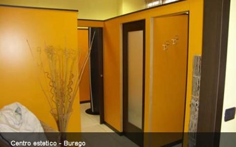 Progettazione impianto per Centro estetico Burago