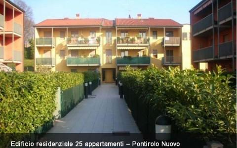Progettazione impianto elettrico edificio residenziale Pontirolo Nuovo